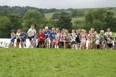 Junior Fell Race, Malham Show, Yorkshire Dales