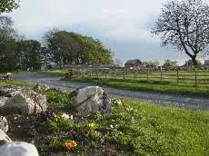 Entrance to Malham Farm Park and Campsite