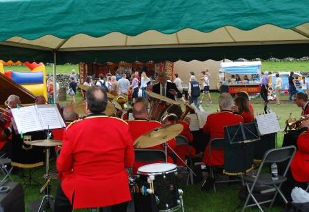 Malham Show, Brass Band, photo Chris Wildman