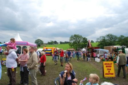 Malham Show, Tradestands, photo Chris Wildman