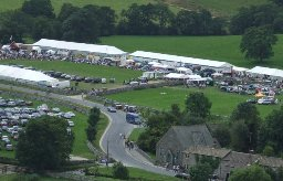 Malham Show, Show Field August 2007, Malhamdale, Yorkshire Dales, by Tim Done