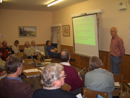 Malhamdale Parish Plan Meeting, Malham Village Hall